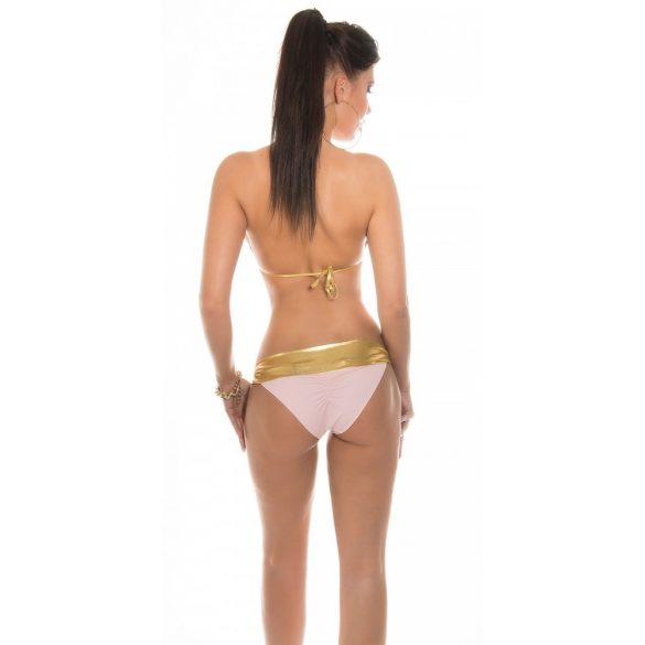Arany pántos bikini 2 színben