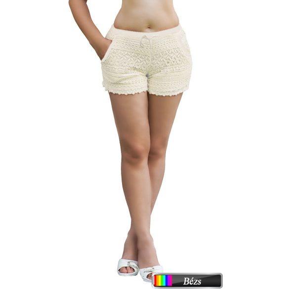 Horgolt rövidnadrág