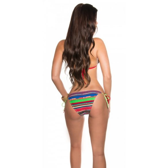 Azték mintás bikini