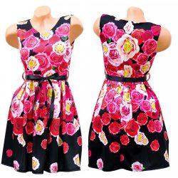 Virágmintás elegáns ruha
