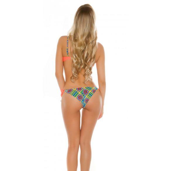 Bikini levehető pántokkal