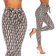 Mintás megkötős nadrág