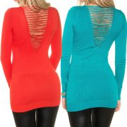 Fűzős pulóver