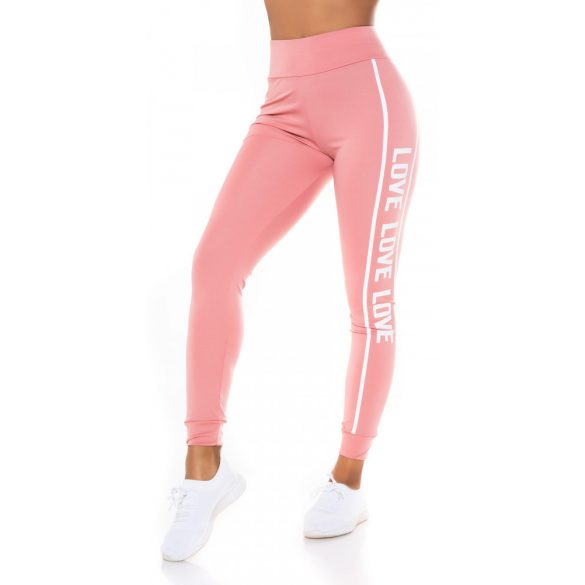 Feliratos leggings