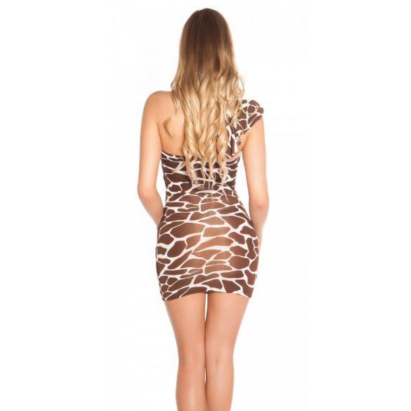 Masnis félvállas ruha