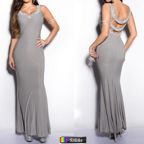 Dekoratív maxi ruha