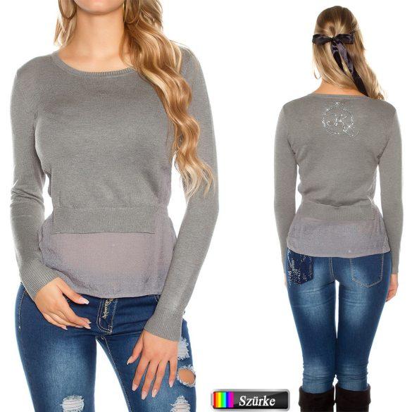 Kötött pulóver 5 színben