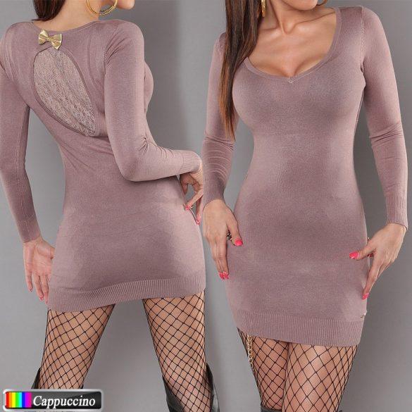 Masnis csipkés kötött ruha 5 színben