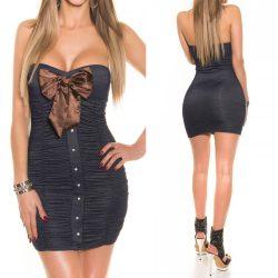Pánt nélküli masnis ruha