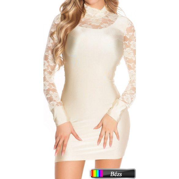 Testhezálló csipkés ruha