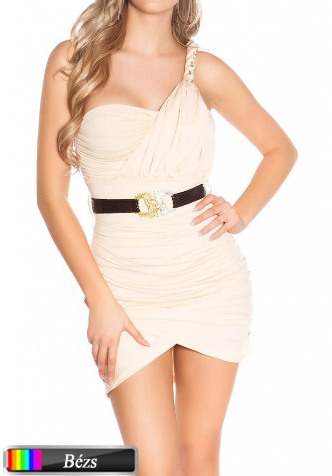 Denevér ujjú kötött ruha Venus fashion női ruha webáruház