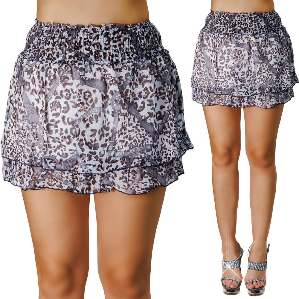 Mintás fodros szoknya S M - M L - Venus fashion női ruha webáruház ... 1d7e33abdb
