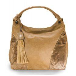 Divatos bőr hatású rojt díszes táska
