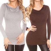 Finomkötött pulóver