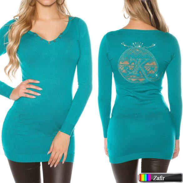 Csipkés pulóver több színben