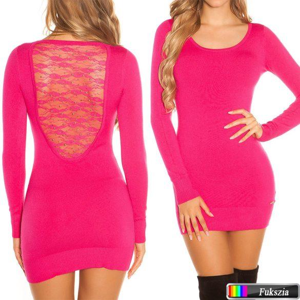 Csipkés kötött pulóver 7 színben