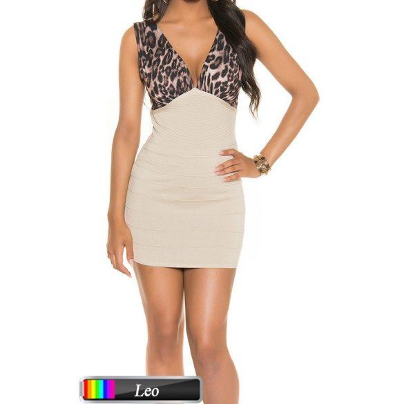 Dekoratív bicolor ruha