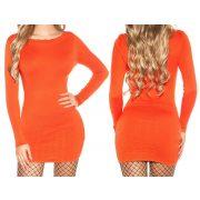 Narancssárga kötött ruha