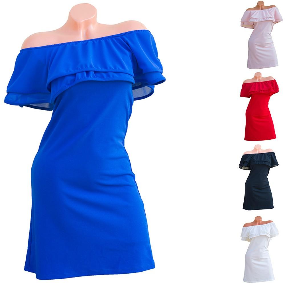 474262a423 Dupla fodros ruha - Venus fashion női ruha webáruház - Elképesztő ...