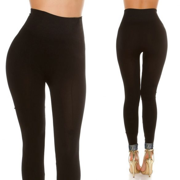 Alakformáló feliratos leggings