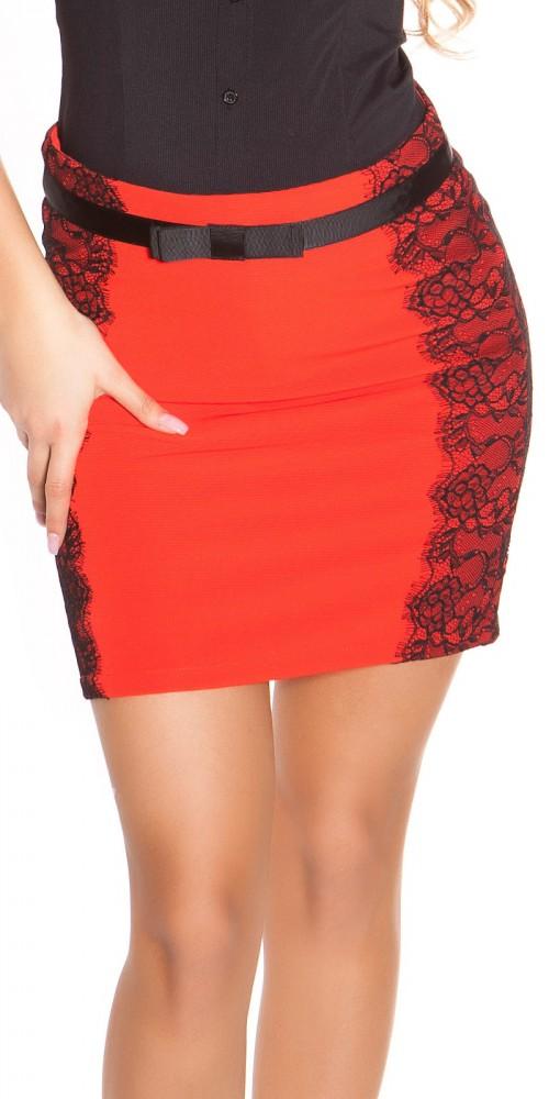 975a663f9d Elegáns csipkebetétes szoknya - Venus fashion női ruha webáruház ...