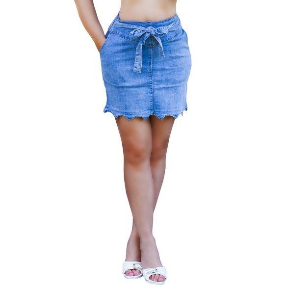 650c74029c Megkötős farmer szoknya XS-S-M-L-XL - Venus fashion női ruha ...