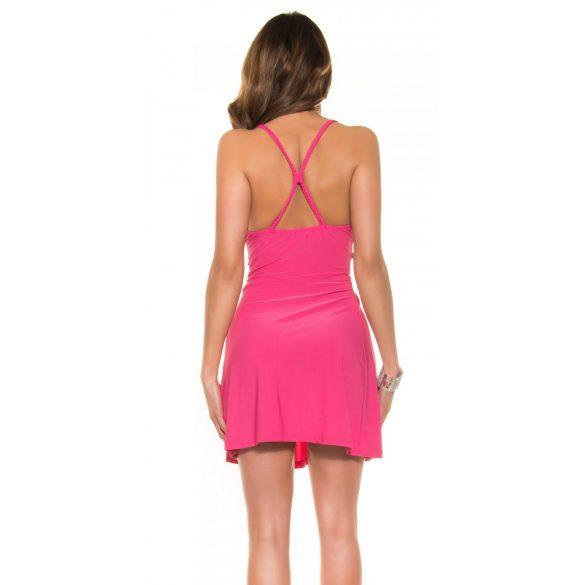 Dekoratív keresztpántos ruha
