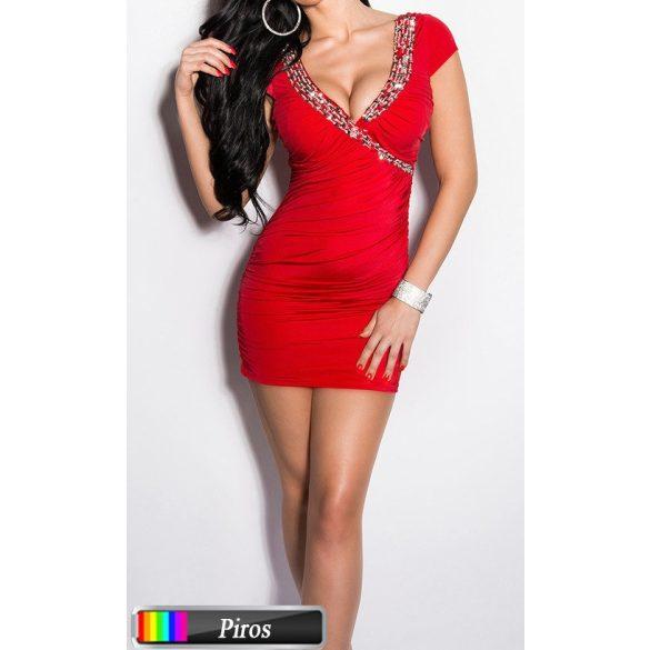 Dekoratív strasszos ruha