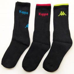 3 pár pamut Kappa zokni 6 stílus