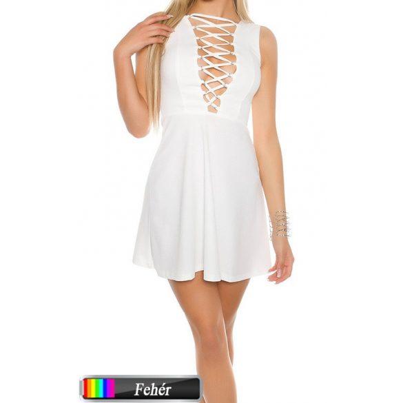 Fűzős loknis ruha