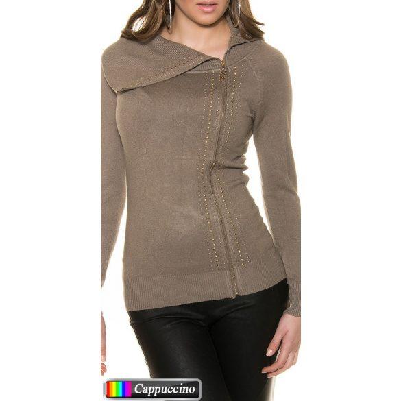 Cipzáras pulóver