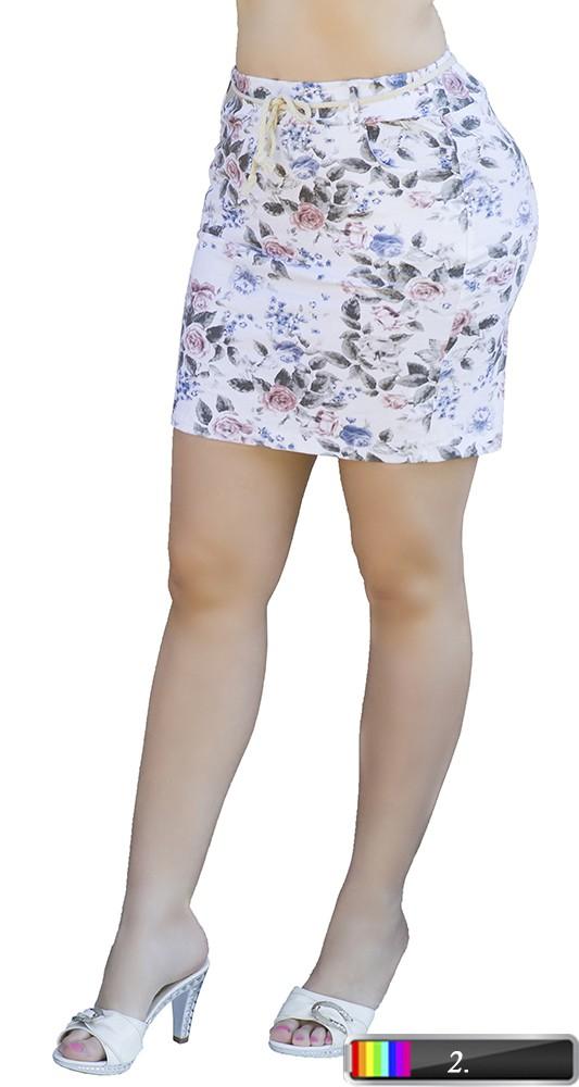 aa0d7a3487 Virágmintás megkötős szoknya S-M-L - Venus fashion női ruha ...