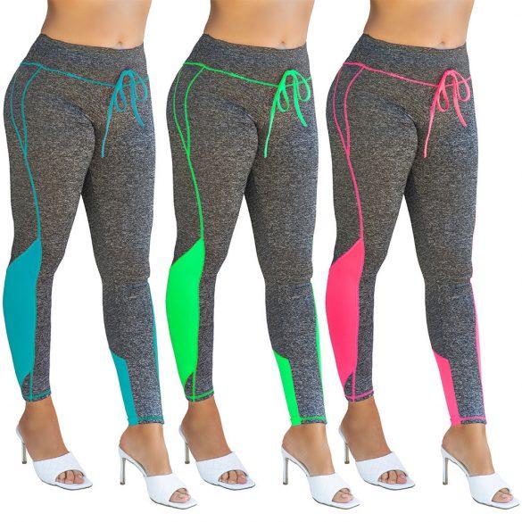 Megkötős színes leggings nadrág