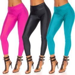 Fényes lurex leggings