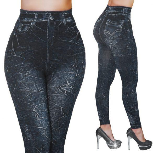Márványmintás leggings nadrág