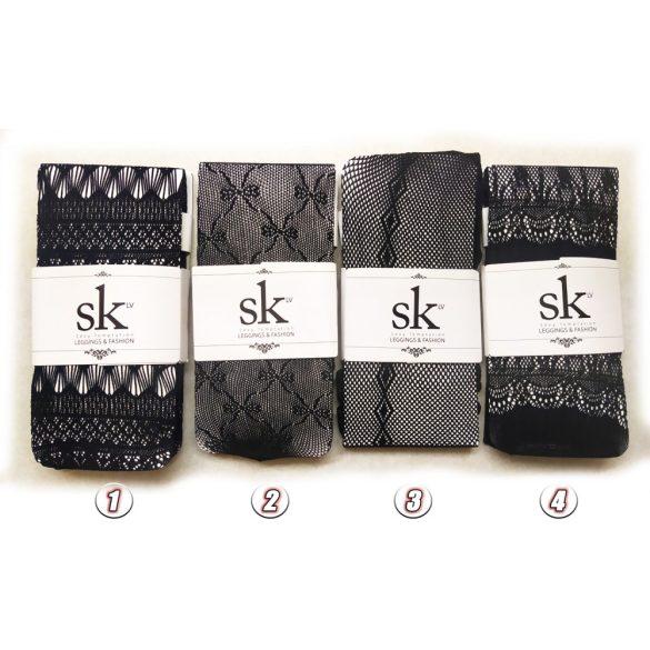 Szexi fekete harisnya több változatban
