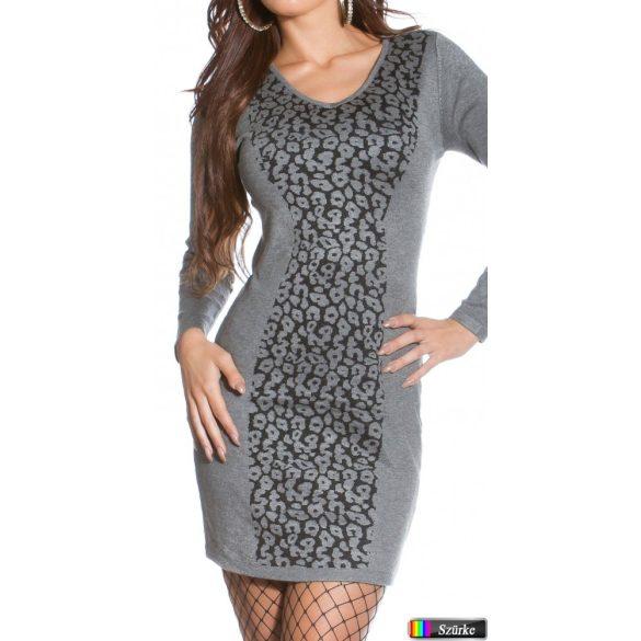 Mintás kötött ruha