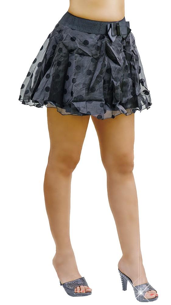 Pöttyös masnis retro tüll szoknya Venus fashion női ruha w