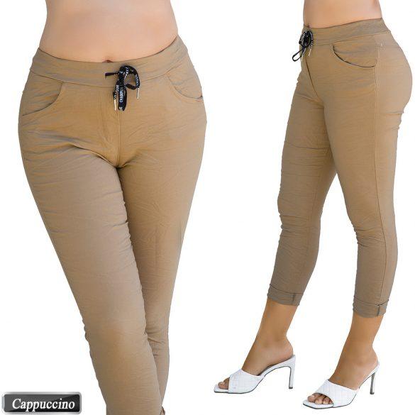Megkötős sztreccs nadrág