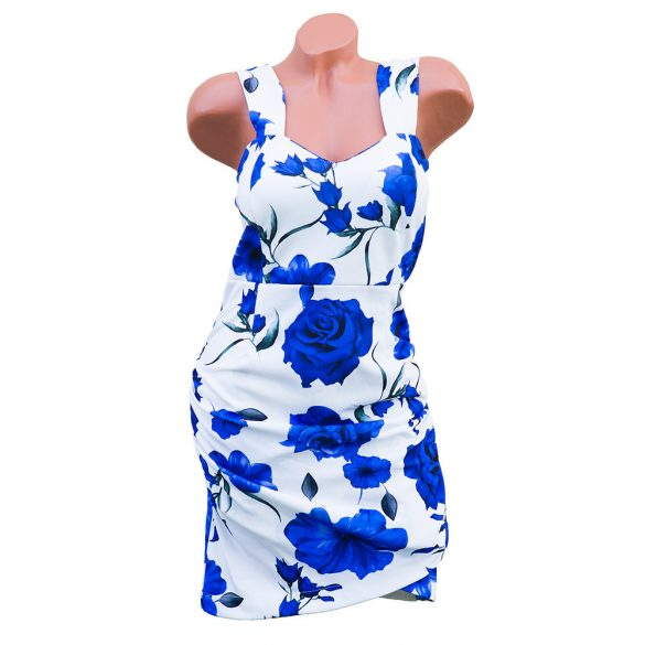 Virágmintás testhezálló ruha