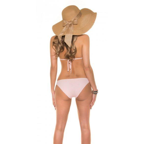 Rózsaszín strasszos bikini