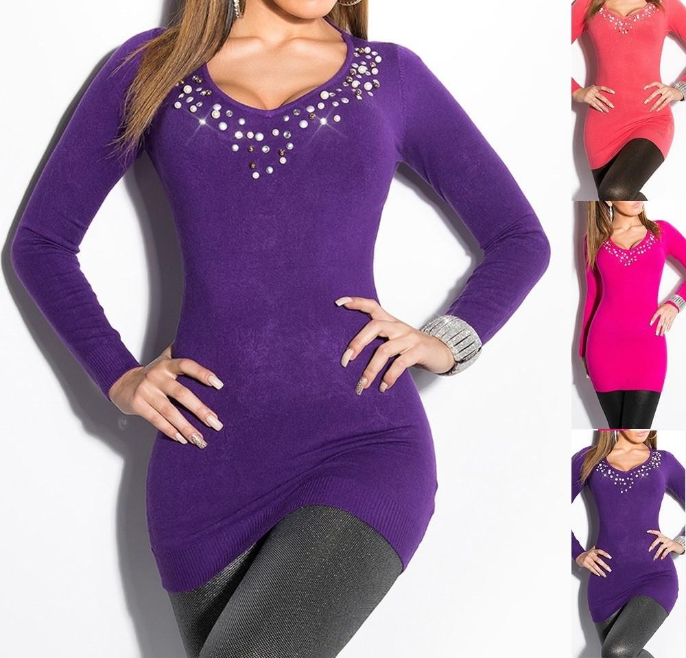 6f8d13d825 Divatos gyöngyös tunika ruha - Venus fashion női ruha webáruház ...